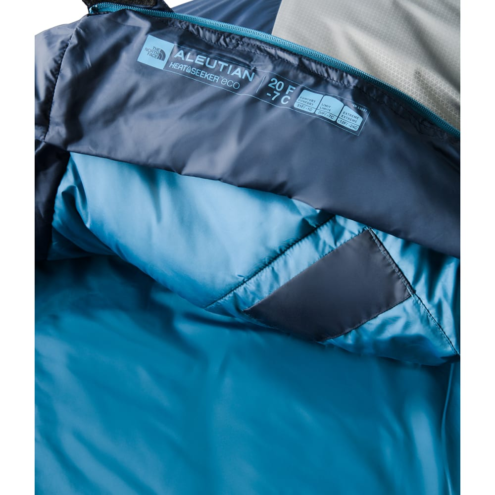 THE NORTH FACE Aleutian 20 Mummy Sleeping Bag, Long - COSMIC BLUE/ZINC GRY