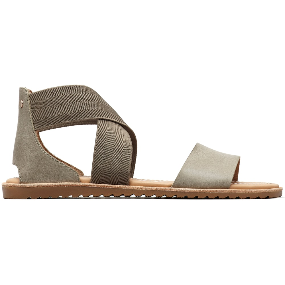 SOREL Women's Ella Sandals - 365-SAGE