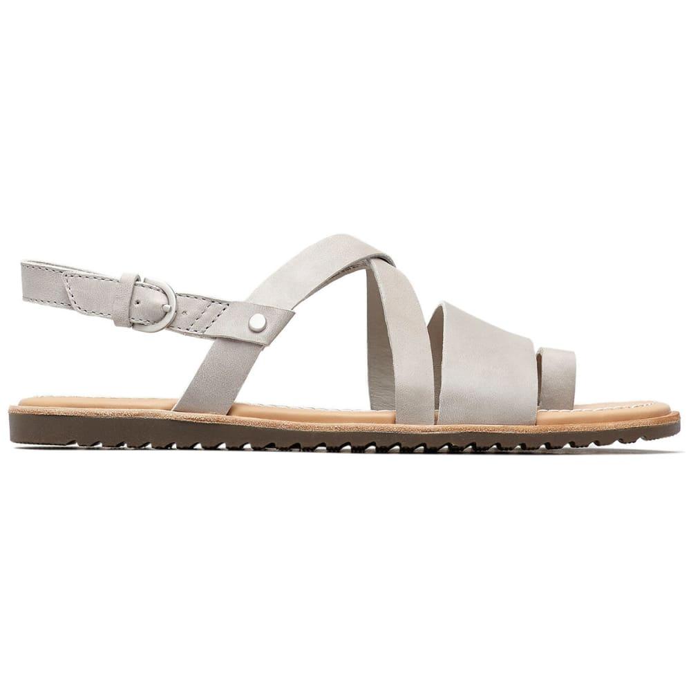 SOREL Women's Ella Criss Cross Sandals 6