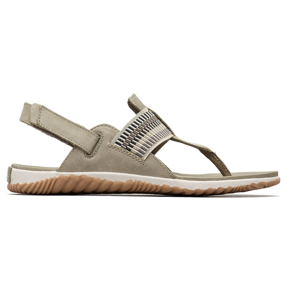 SOREL Women's Out and About Plus Sandal - 365-SAGE