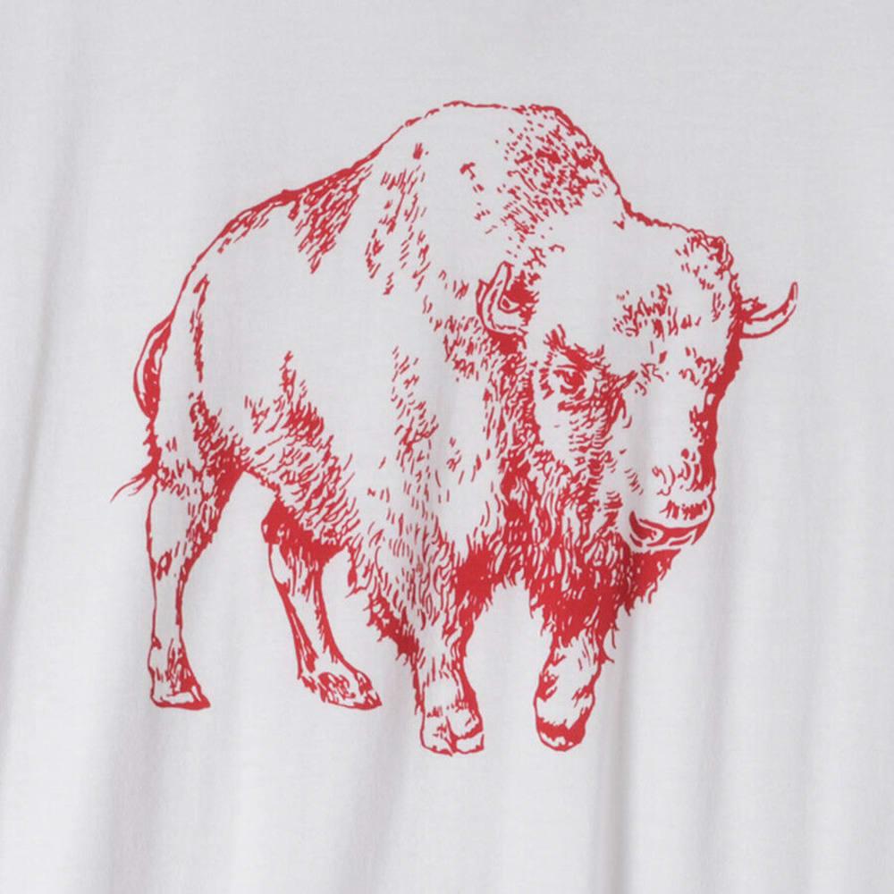 MOUNTAIN KHAKIS Men's BisionT-shirt - 765-WHITE/ENGINE RED