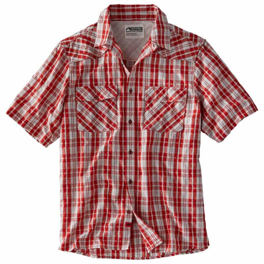 MOUNTAIN KHAKIS Men's Scrambler Short-Sleeve Shirt S