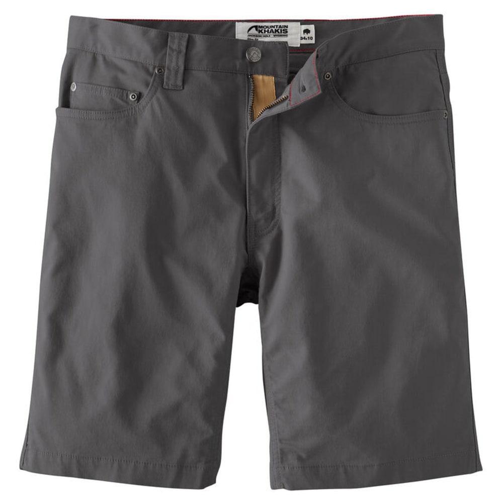 MOUNTAIN KHAKIS Men's LoDo Slim-Fit Short - 178-SLATE