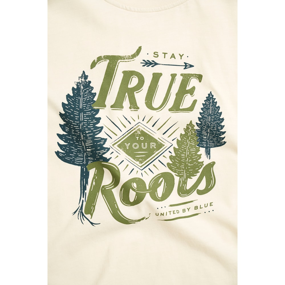 UNITED BY BLUE Women's Stay True Short-Sleeve Tee - ANTIQUE WHITE