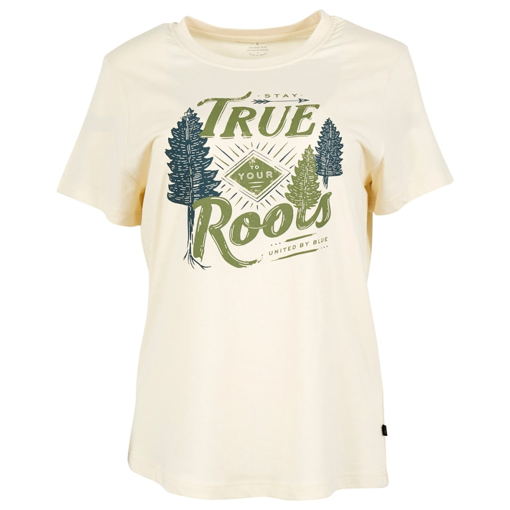 UNITED BY BLUE Women's Stay True Short-Sleeve Tee M
