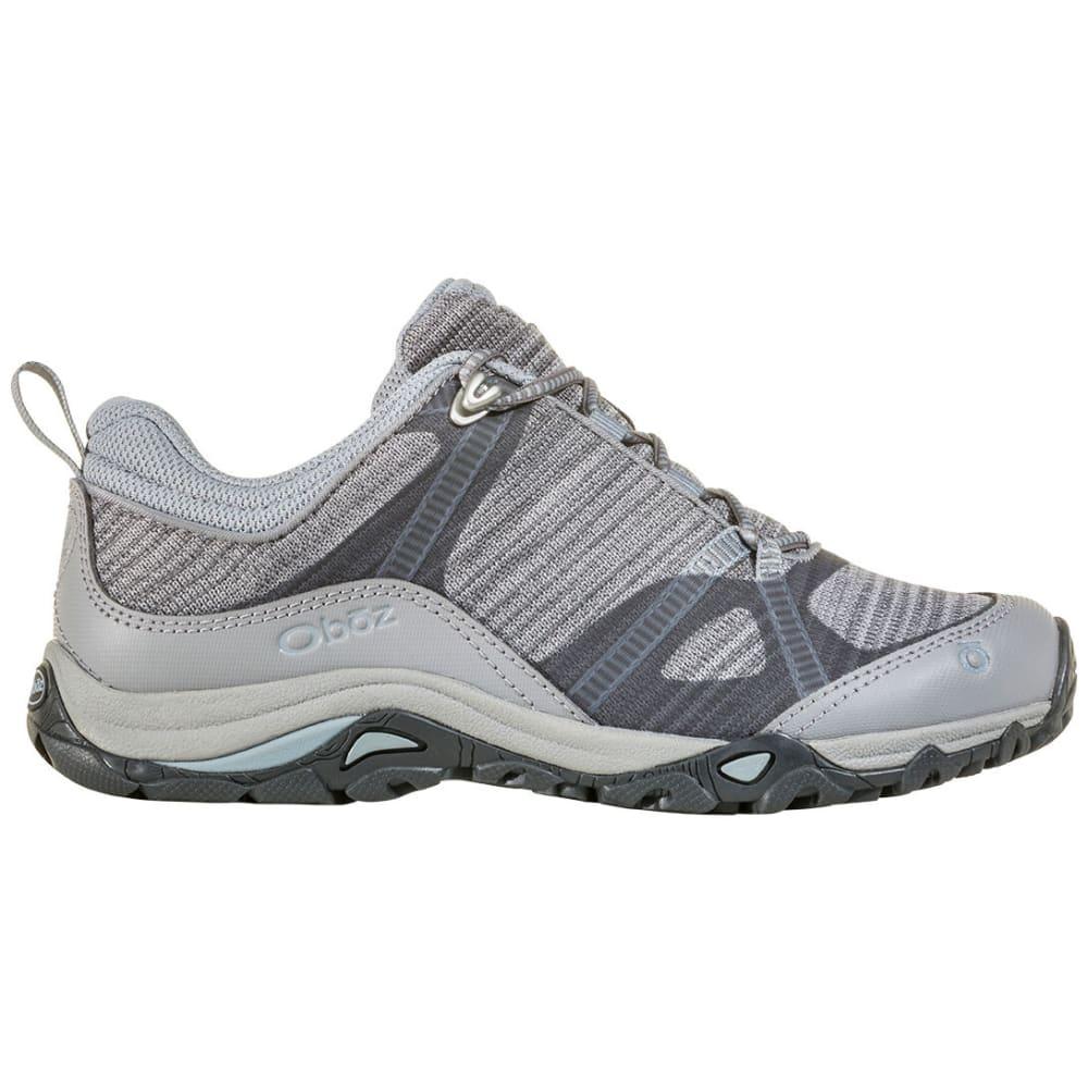 OBOZ Women's Lynx Low Hiking Shoes - FROST GREY
