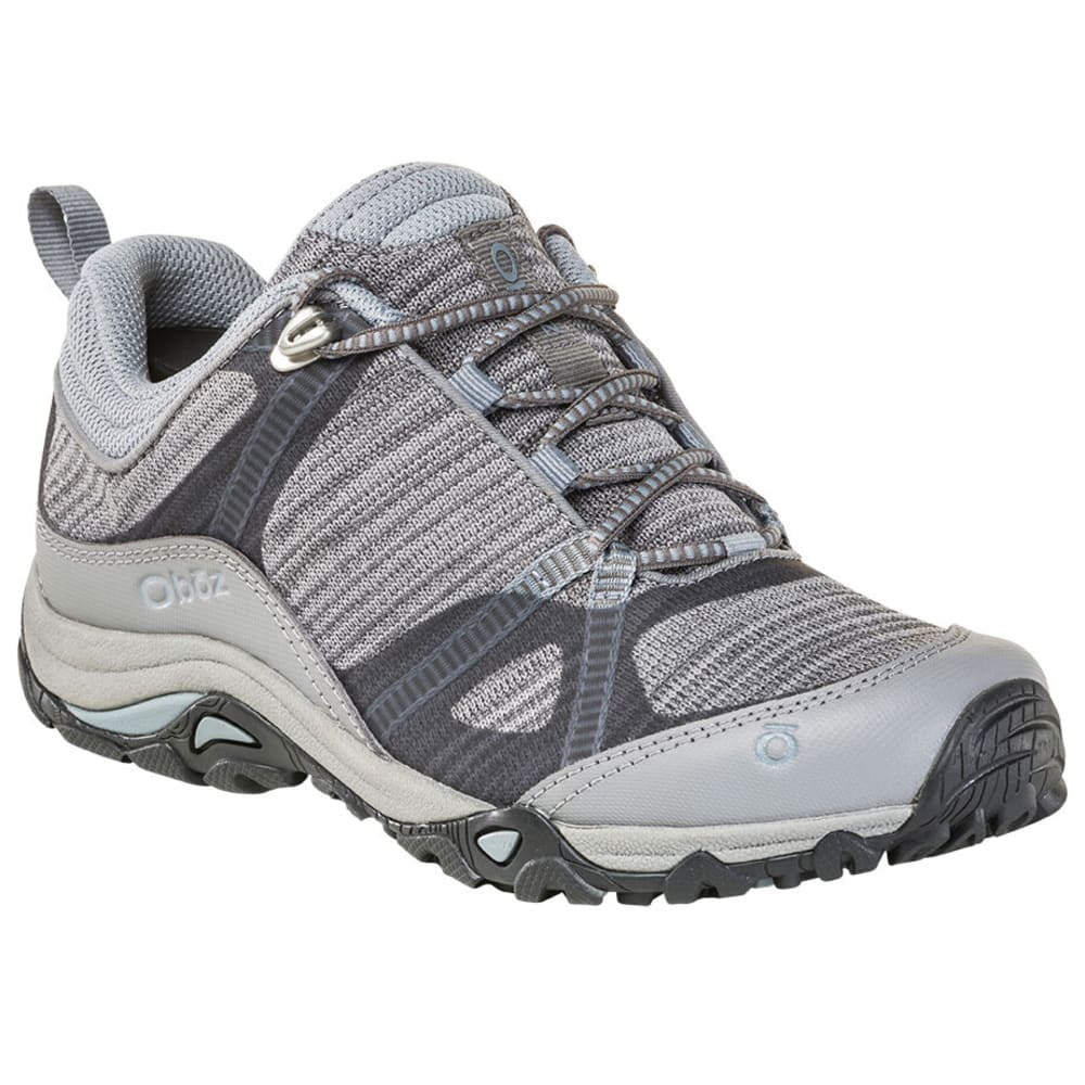 OBOZ Women's Lynx Low Hiking Shoes - FROST GREY