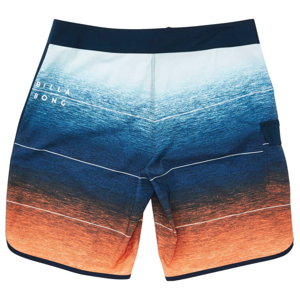 BILLABONG Guys' 73 Stripe Pro Boardshorts - ORG-ORANGE