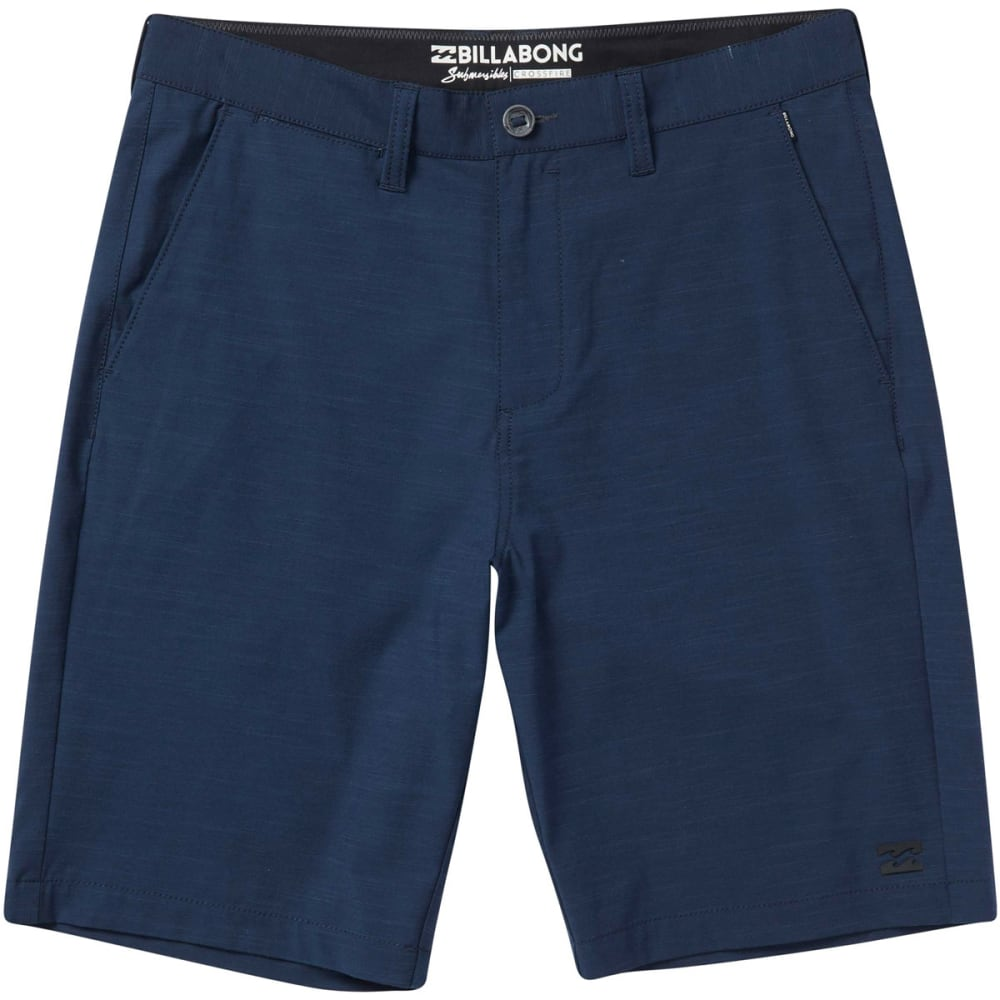 BILLABONG Guys' Crossfire X Slub Submersibles Shorts - NVY-NAVY