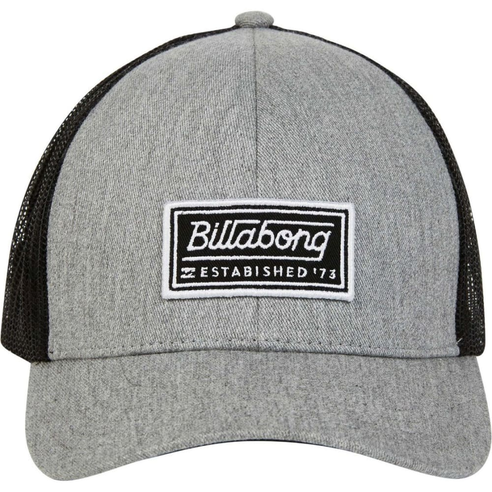 big sale 409bc ee353 BILLABONG Guys  39  Walled Trucker Hat - HGY-HEATHER GREY