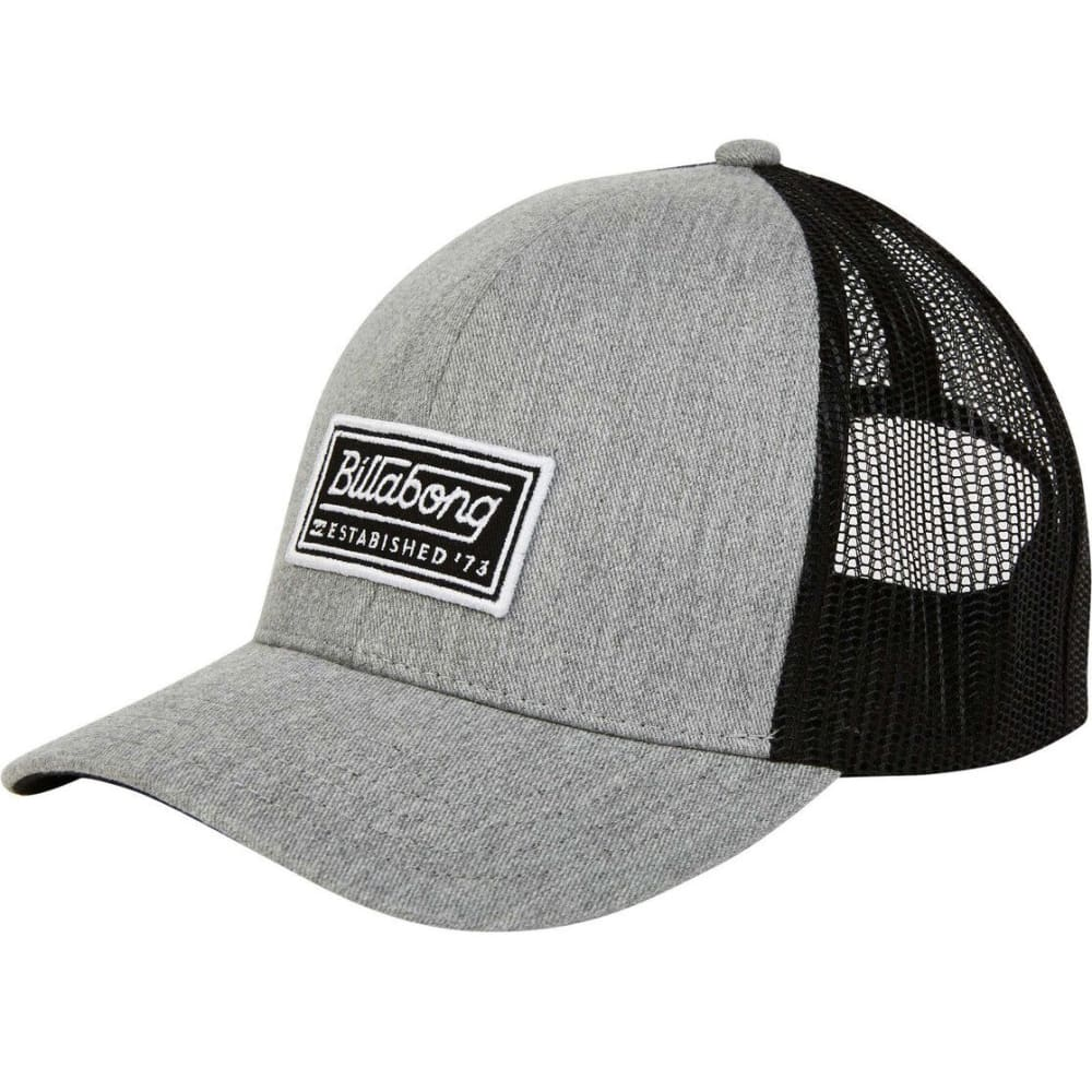 BILLABONG Guys' Walled Trucker Hat - HGY-HEATHER GREY