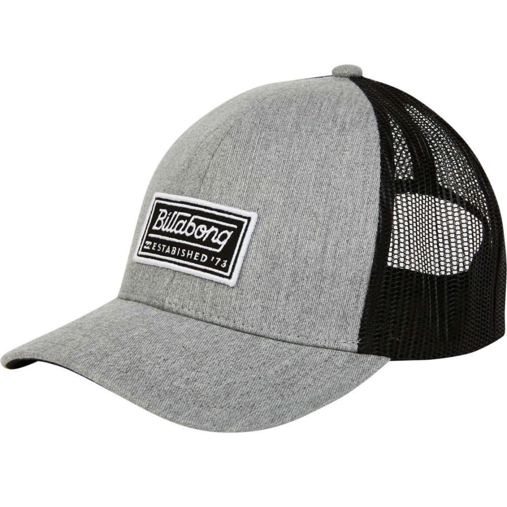 BILLABONG Guys' Walled Trucker Hat - HGY-HEATHER GREY