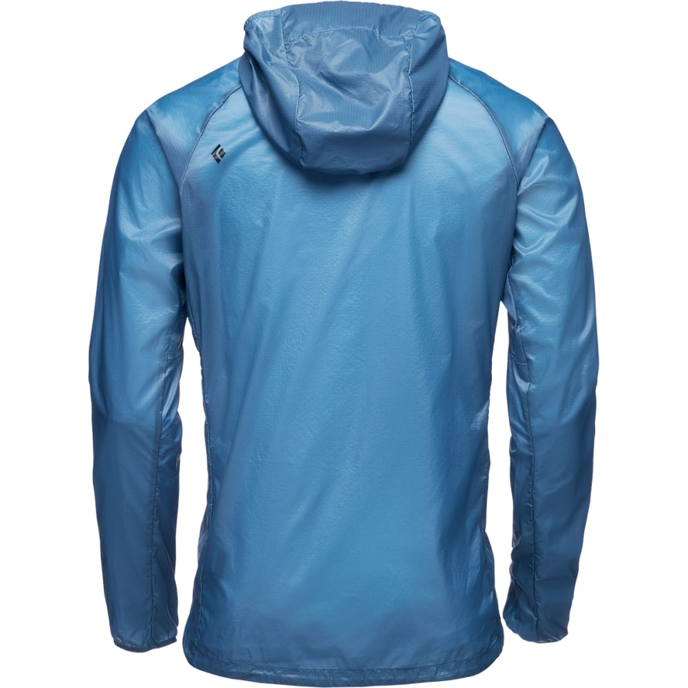 BLACK DIAMOND Men's Distance Wind Shell Jacket - ASTRAL BLUE