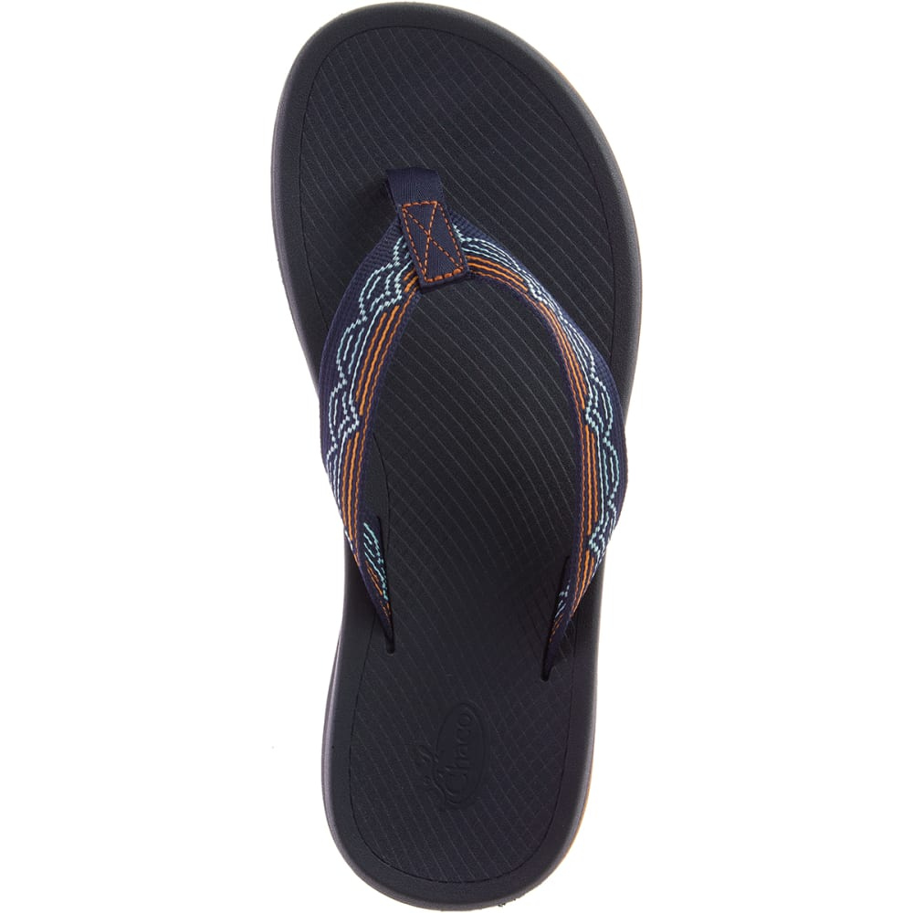 CHACO Men's Playa Pro Web Flip Flops - BLIP AQUA