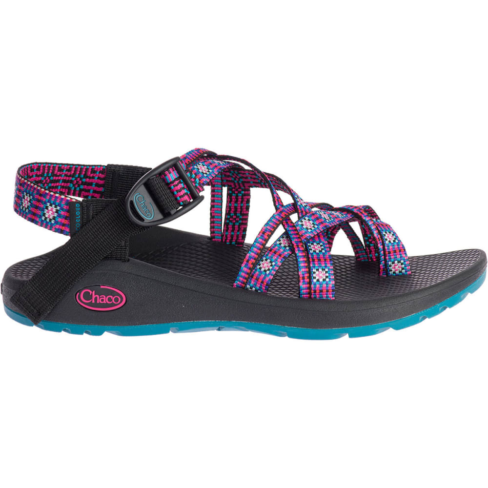 CHACO Women's Z/Cloud 2 Remix Sandals - SQUARED MAGENTA