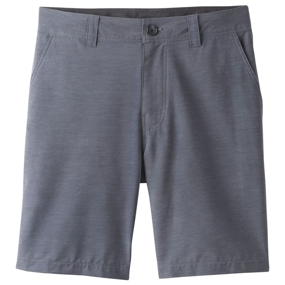 PRANA Men's 9 in. Rotham Hybrid Shorts - GRANITE