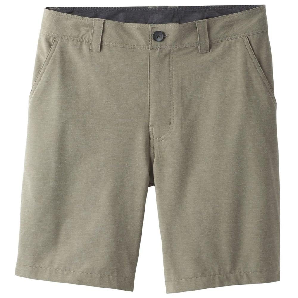 PRANA Men's 9 in. Rotham Hybrid Shorts - CAGR CARGO GREEN