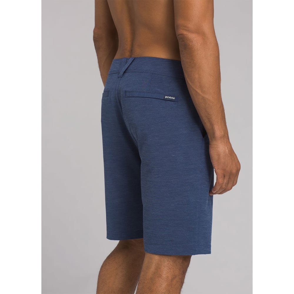 PRANA Men's 9 in. Rotham Hybrid Shorts - BLAN BLUE ANCHOR
