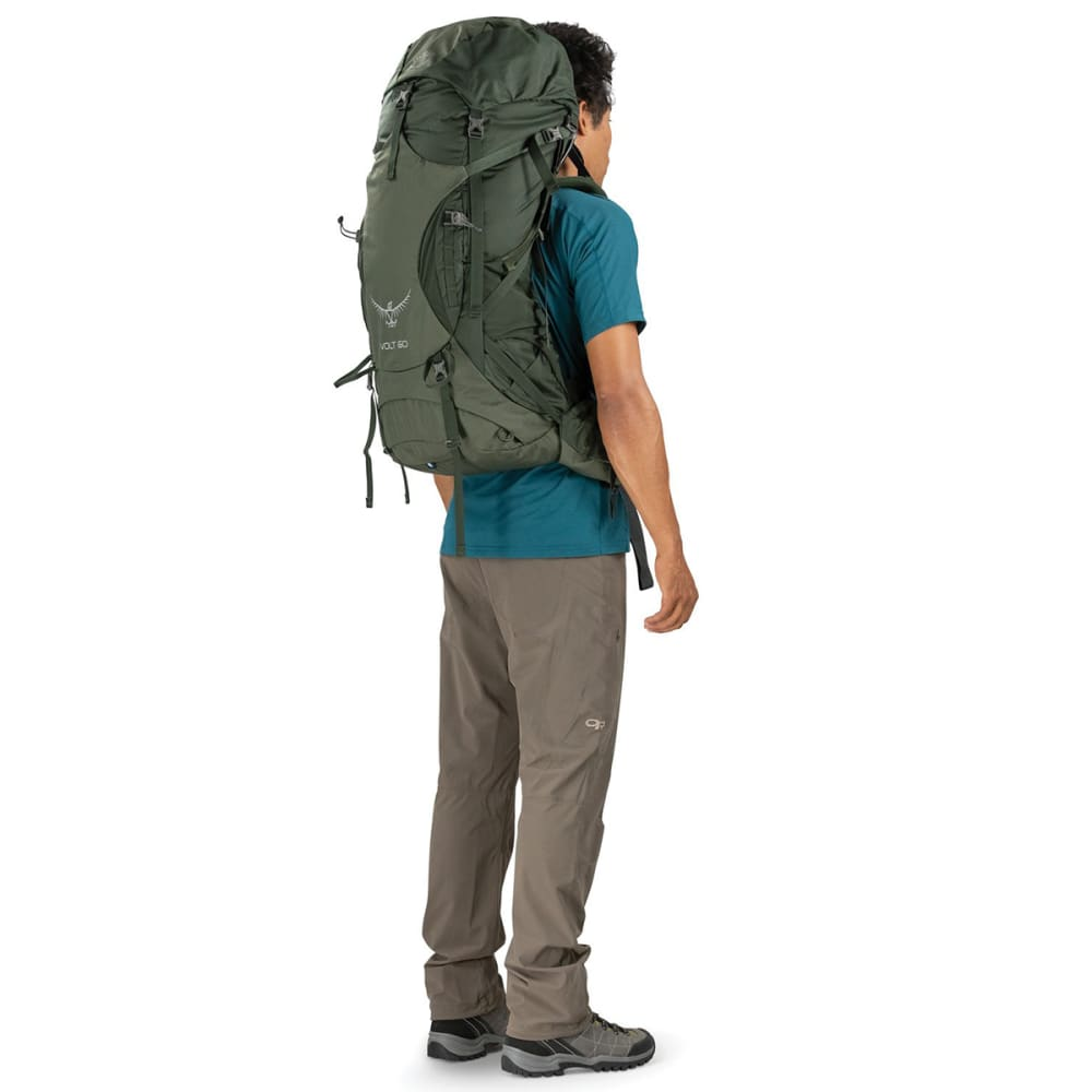 OSPREY Men's Volt 60 Pack - CONIFER GREEN