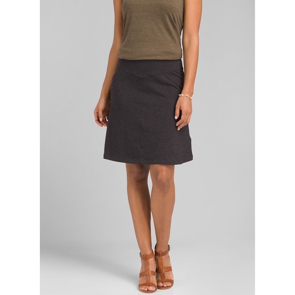 PRANA Women's Adella Skirt - BLACK