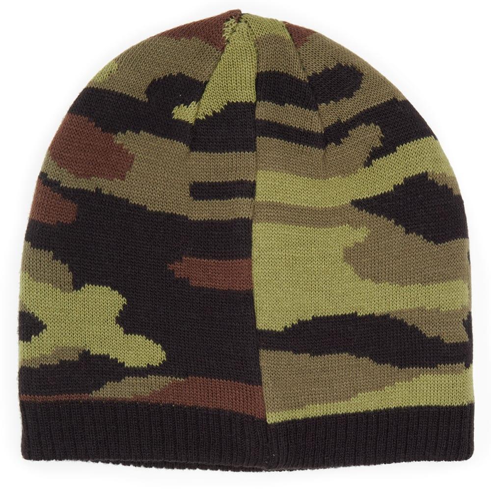 NOLAN Boys' Reversible Camo Knit Beanie - CAMO