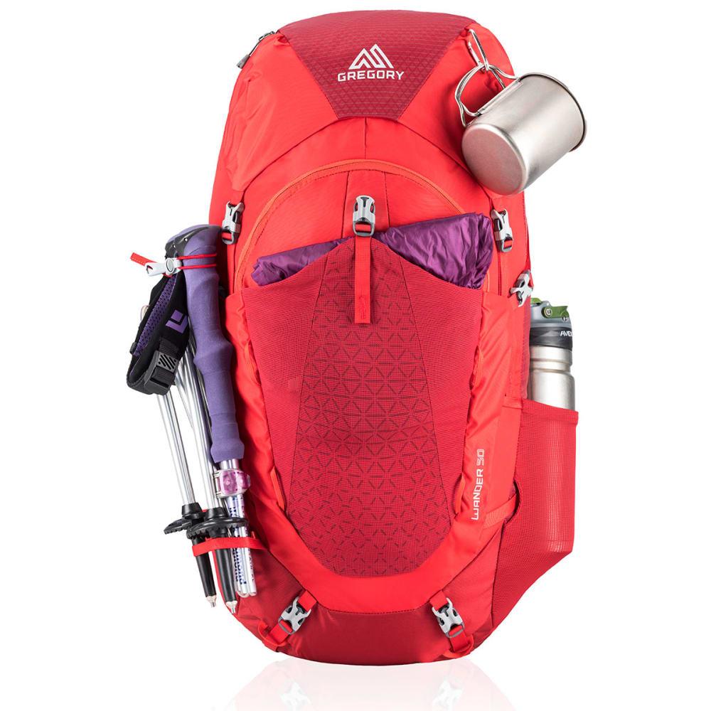 GREGORY Wander 50 Pack - FIERY RED