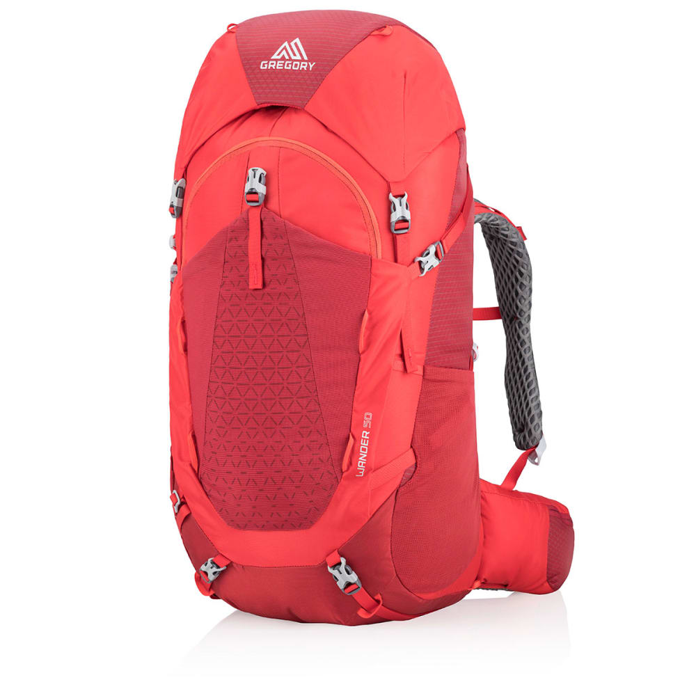 GREGORY Wander 50 Pack - FIERY RED