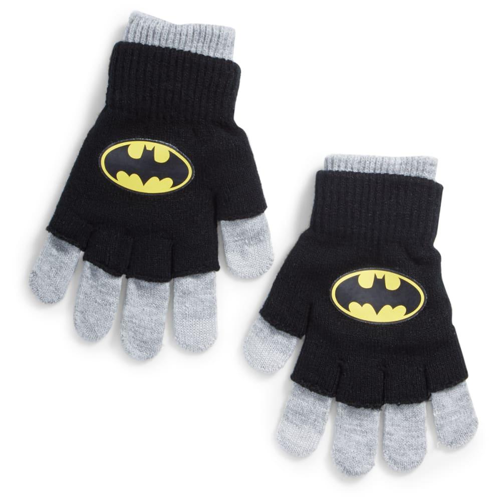 NOLAN Boys' Batman Knit Gloves - BLACK