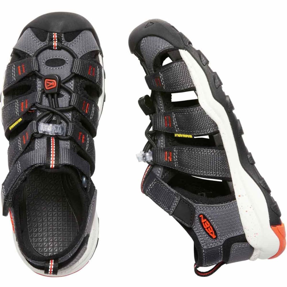 KEEN Kids' Newport Neo H2 Sandal - MAGNET/ORG
