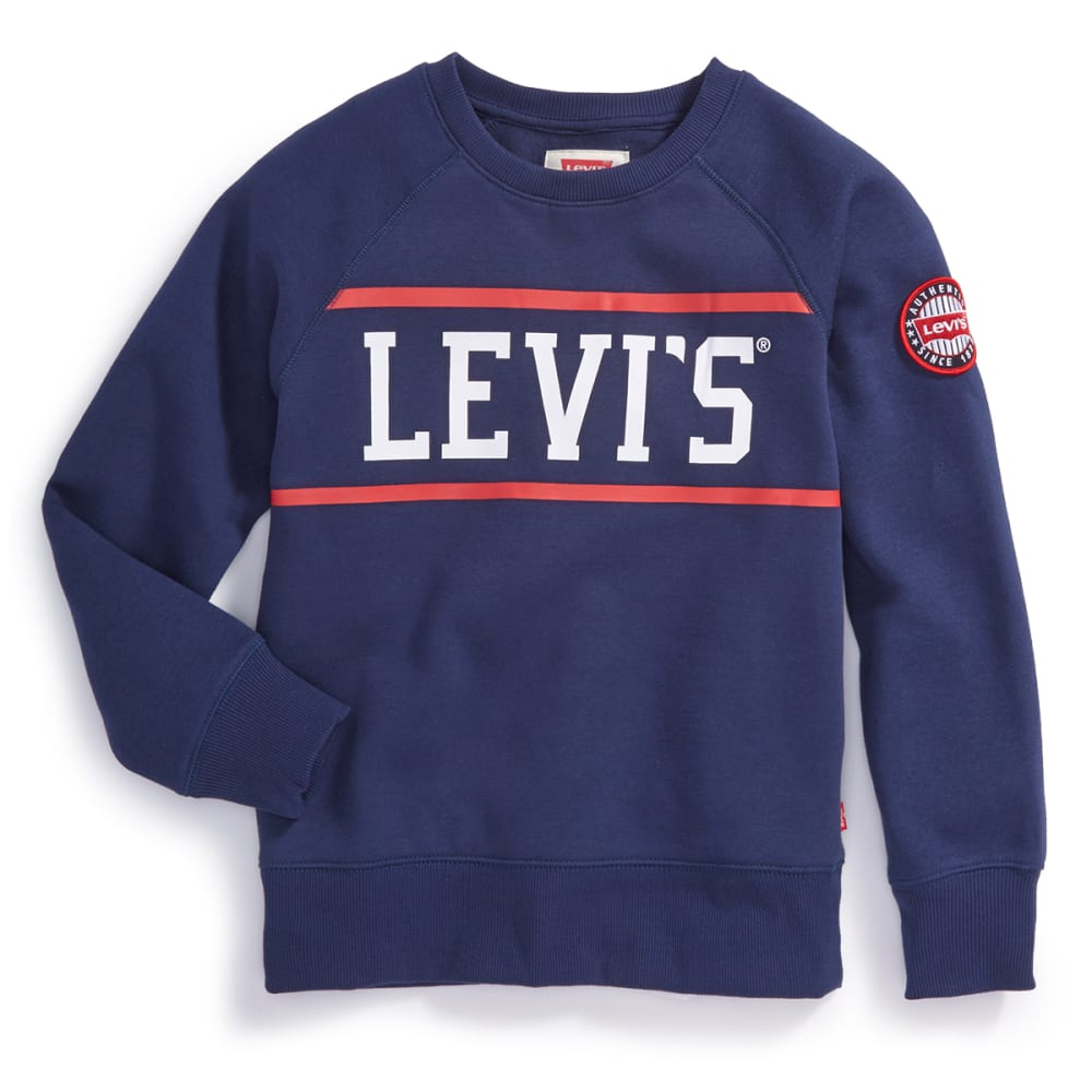 Levi's Big Boys' Cory Fleece Long-Sleeve Pullover - Size L