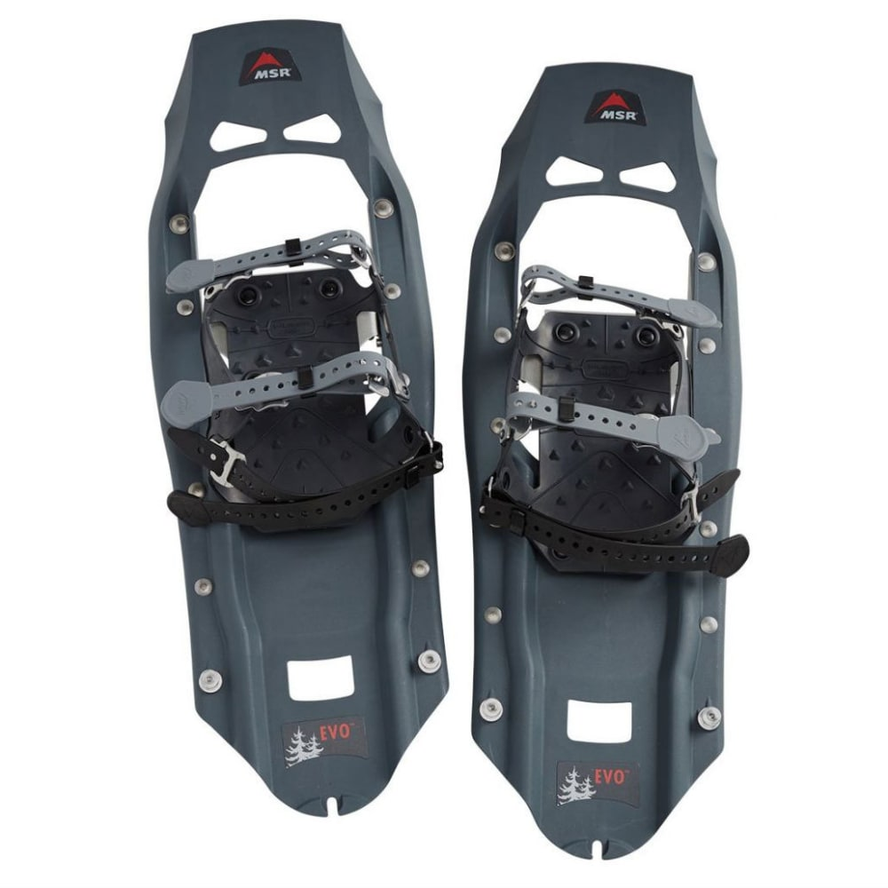 MSR Evo Trail Snowshoes - CHARCOAL