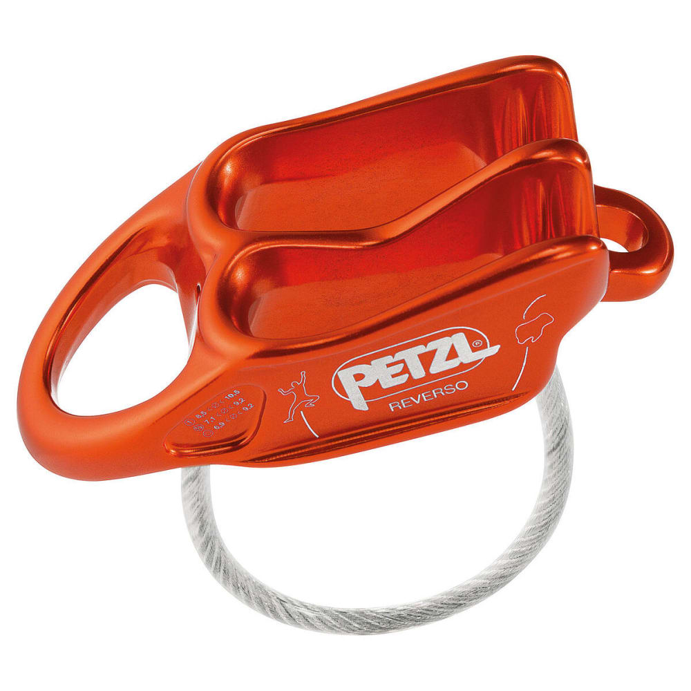 PETZL REVERSO Belay/Rappel Device - RED