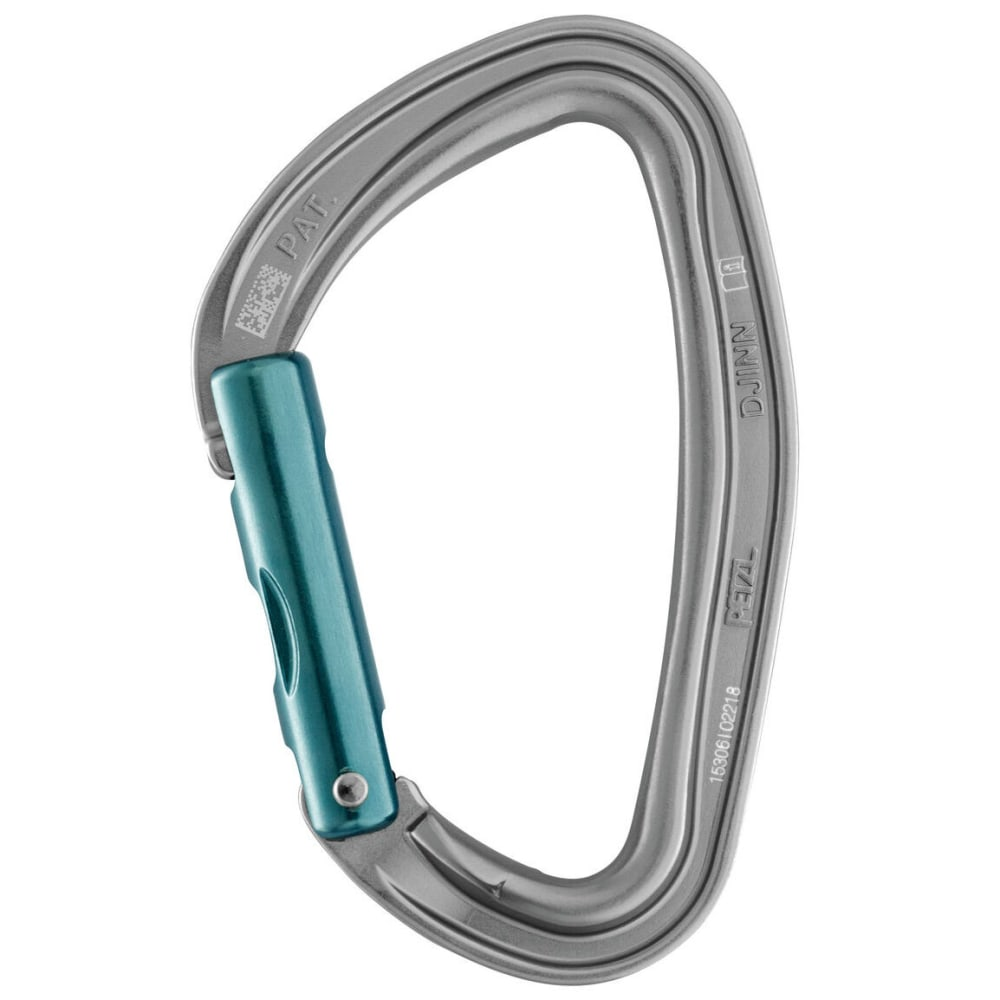 PETZL DJINN Carabiner, Straight Gate - NO COLOR