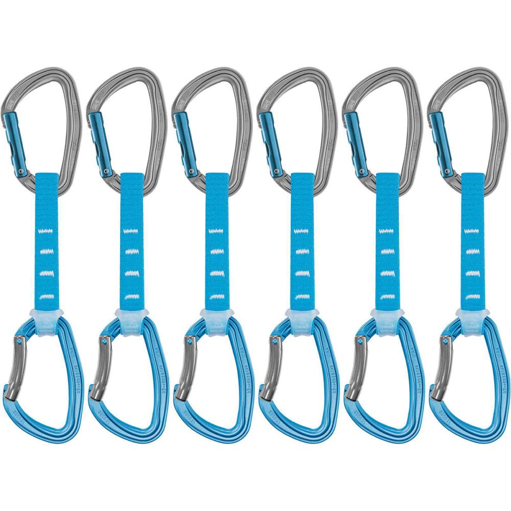 PETZL DJINN AXESS Quickdraws, 12cm, Pack of 6 - BLUE