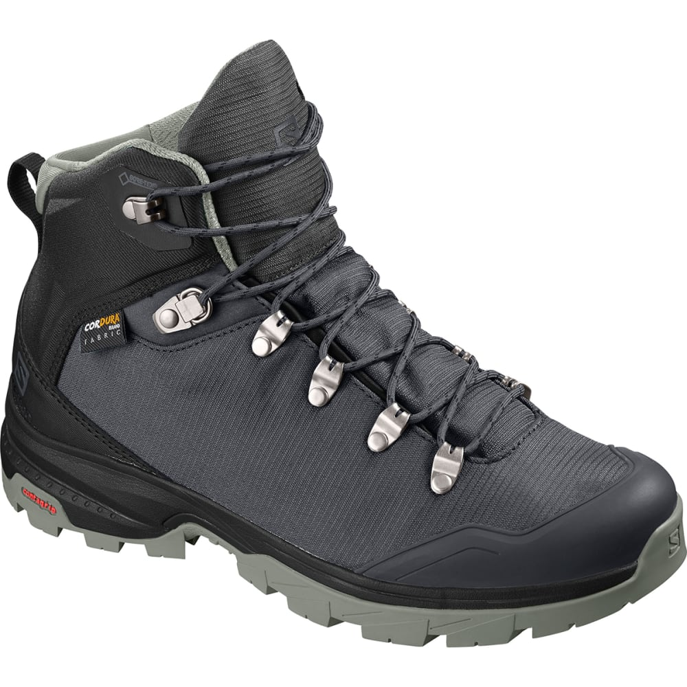 SALOMON Women's Outback 500 GTX Hiking Boots - EBONY/BLACK/SHADOW