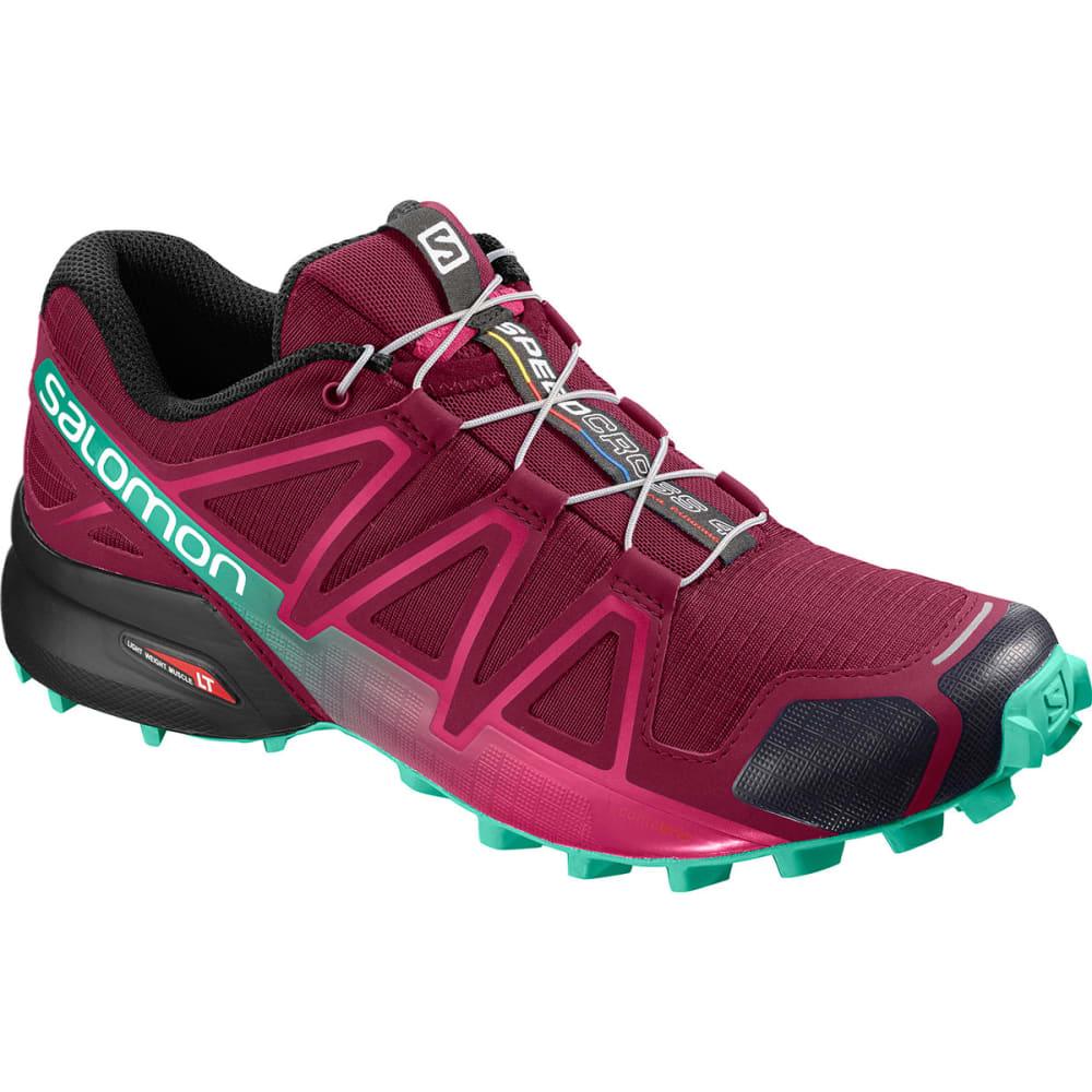 SALOMON Women's Speedcross 4 Shoes - BEET RED