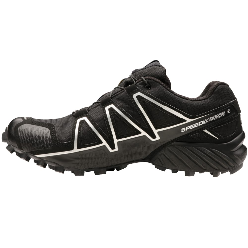 SALOMON Men's Speedcross 4 GTX Trail Running Shoes - BLACK