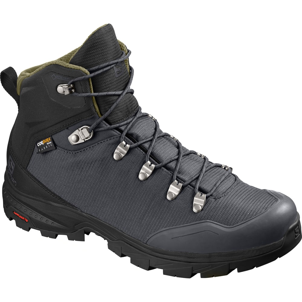 SALOMON Men's Outback 500 GTX Hiking Boots - EBONY/BLACK