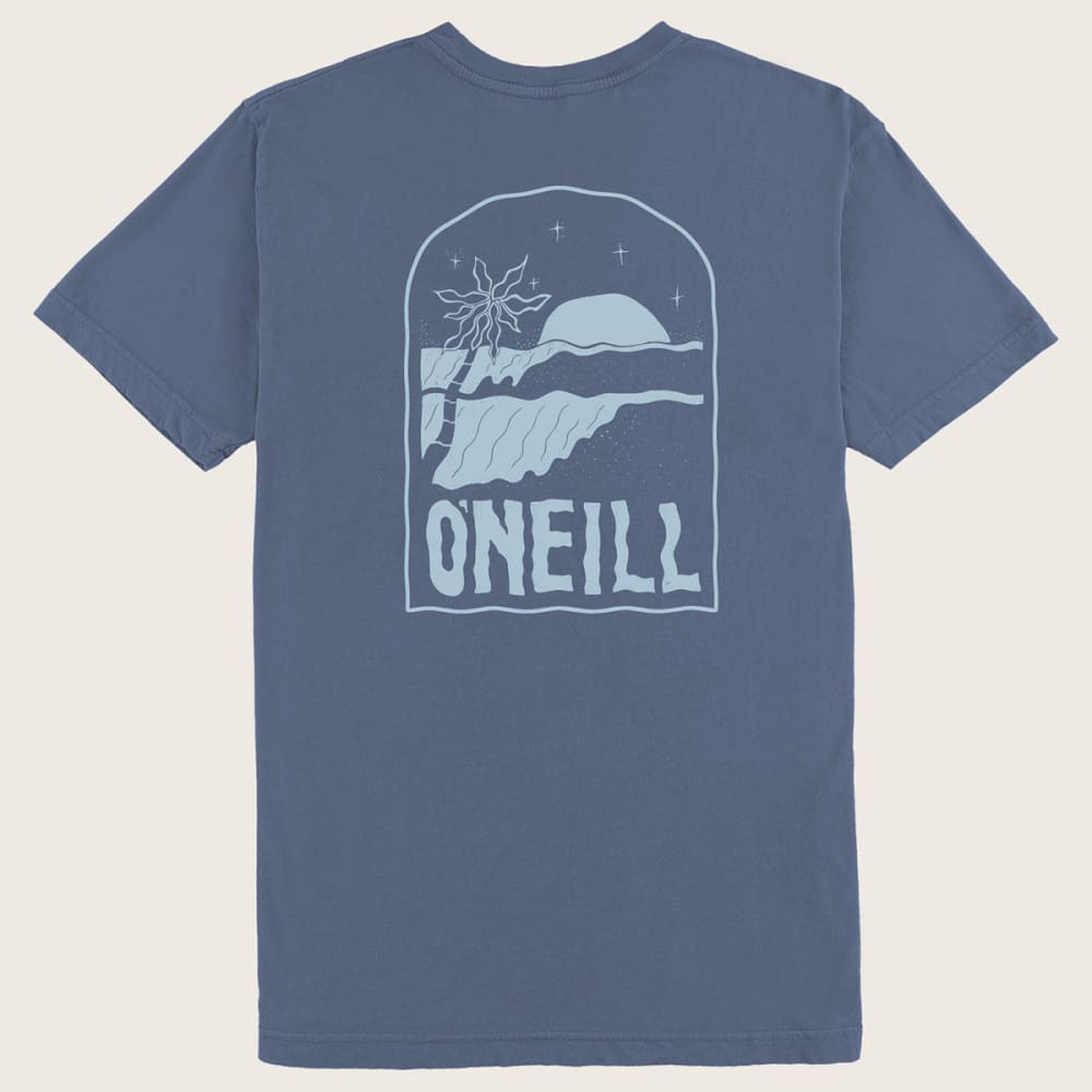 O'NEILL Men's Tombstone Short-Sleeve Tee - BLUE BLU2