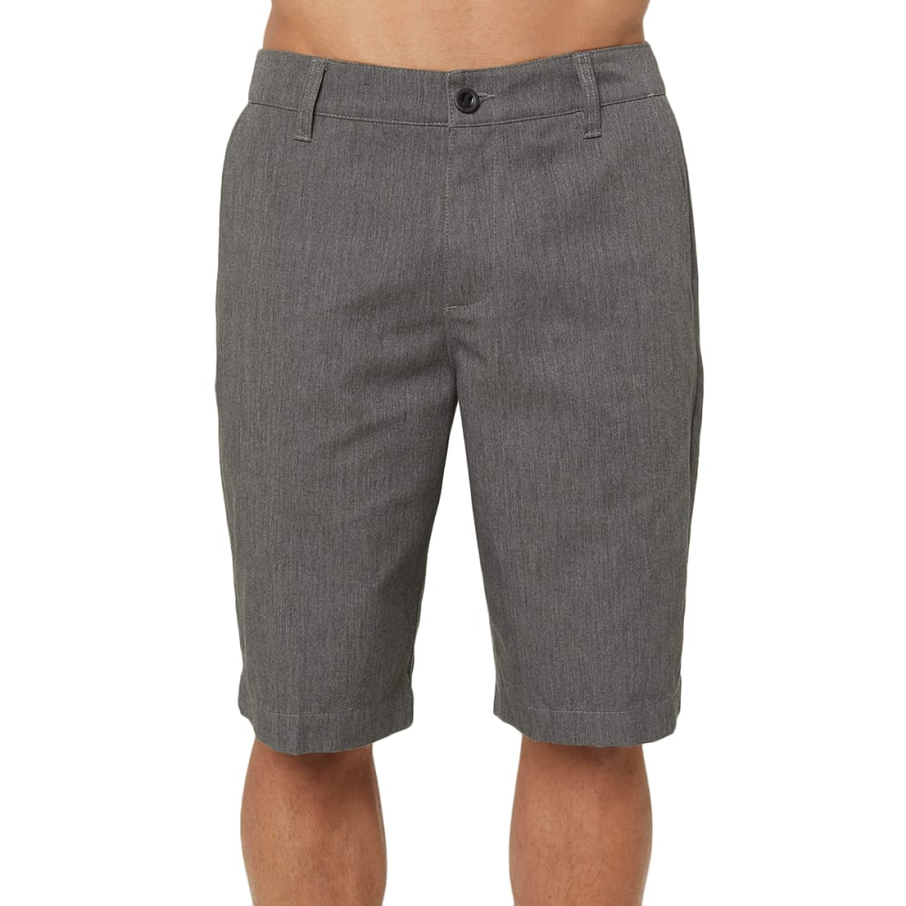 O'NEILL Men's Redwood Hybrid Short - ASH