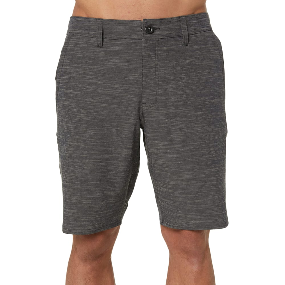 O'NEILL Men's Locked Slub Hybrid Shorts - ASPHALT DCH