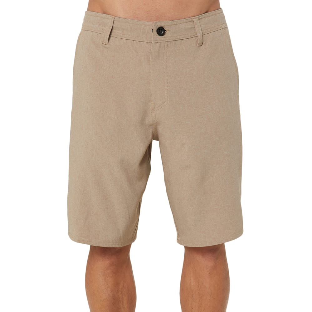 O'NEILL Men's Reserve Heather Hybrid Shorts - KHAKI