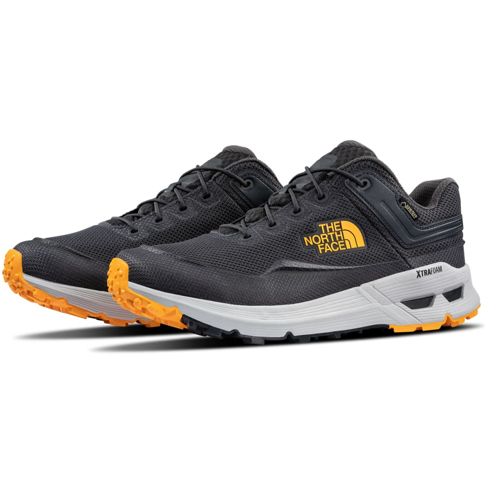 THE NORTH FACE Men's Safien GTX Hiking Shoes - EBONY/ORG-C4T