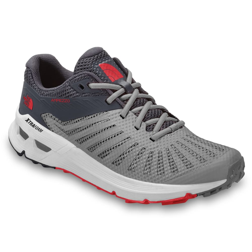 THE NORTH FACE Men's Ampezzo Trail Running Shoes - MELD GRY/EBONY-C69