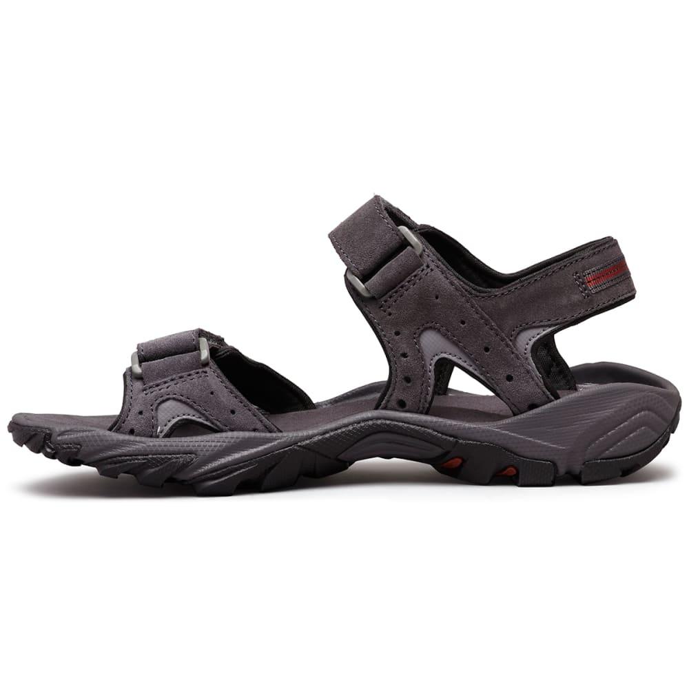 COLUMBIA Men's Santiam 2 Strap Sandal - DK GRY/RUST-089