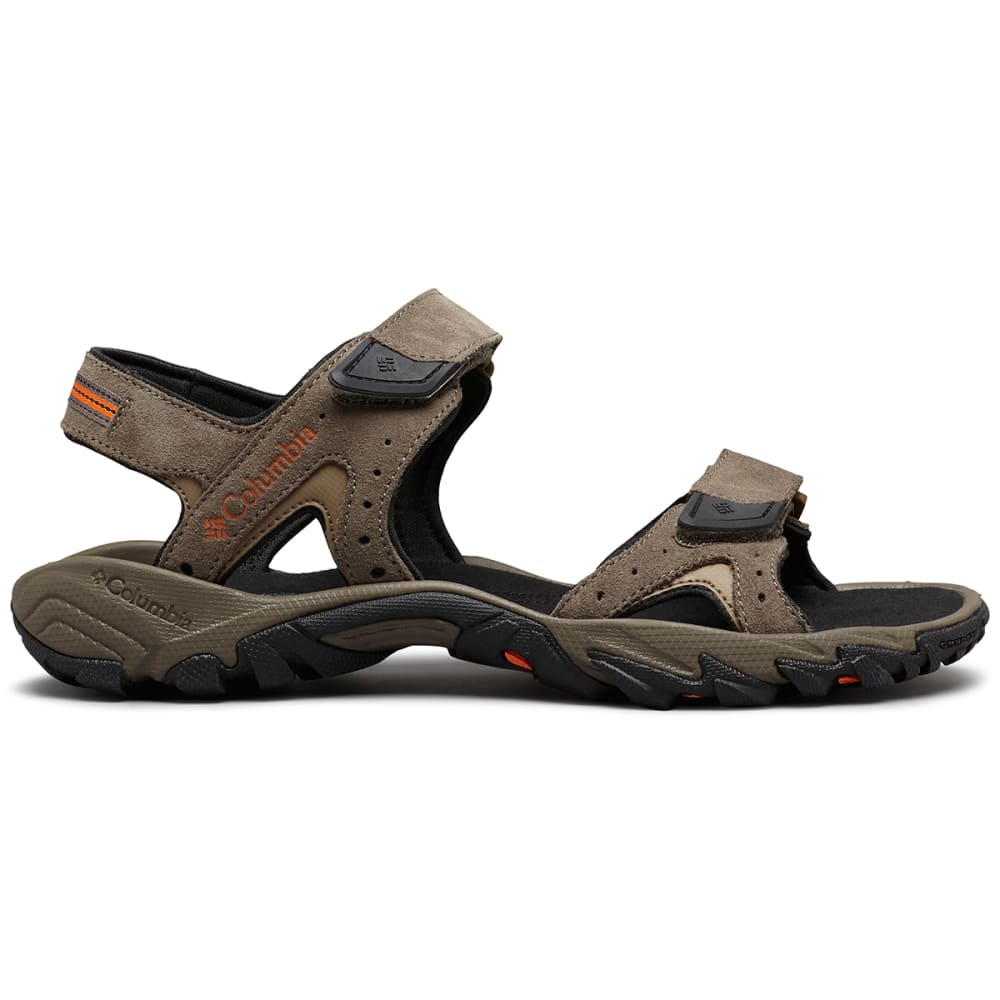 COLUMBIA Men's Santiam 2 Strap Sandal - MUD/HEATWAVE-255