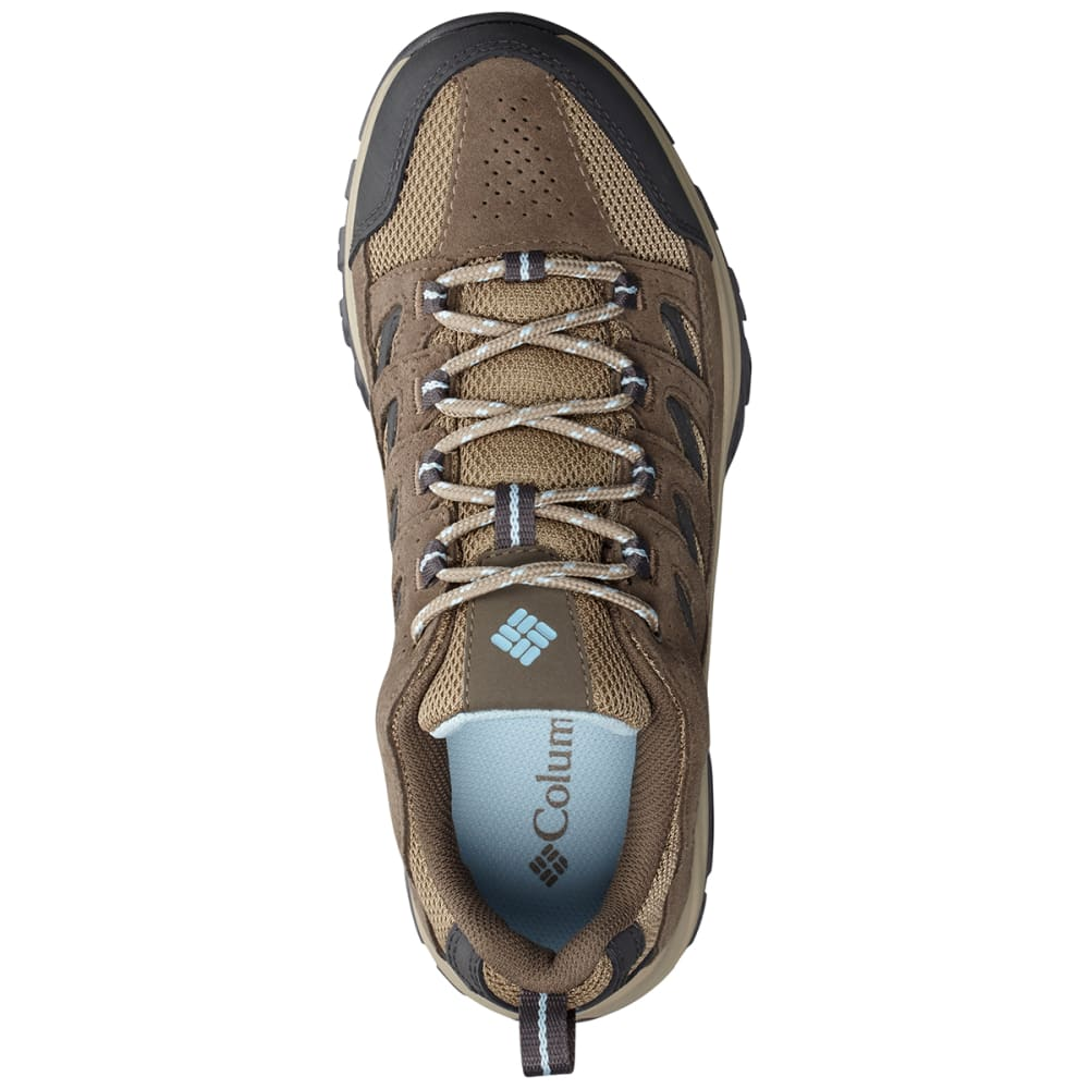 COLUMBIA Women's Crestwood Waterproof Hiker - PEBBLE/OXYGEN-227