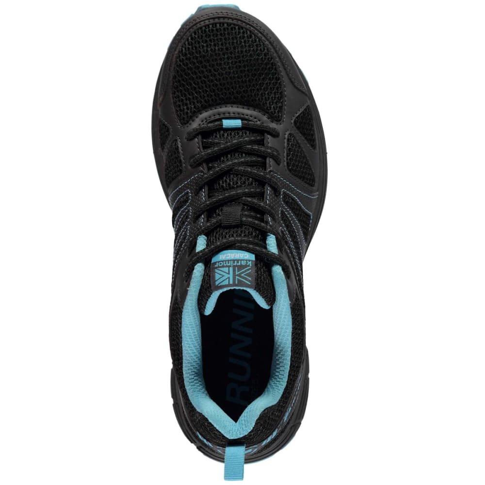 KARRIMOR Women's Caracal Trail Running Shoes - BLACK/BLUE