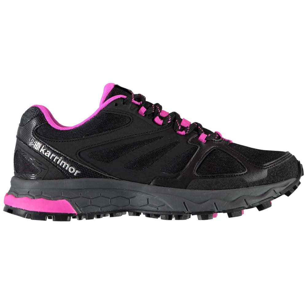 KARRIMOR Women's Tempo 5 Trail Running Shoes - BLACK/PINK