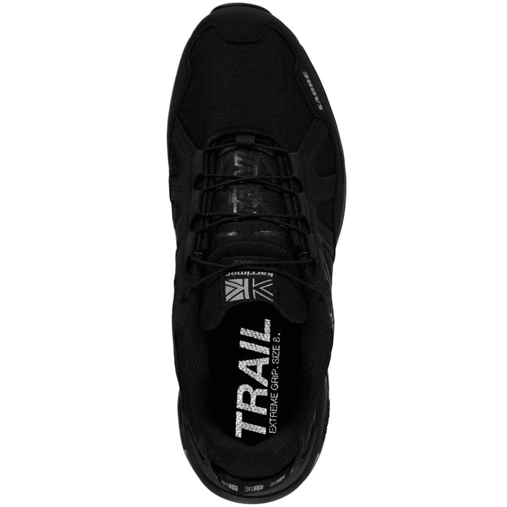 KARRIMOR Men's Sabre Trail Running Shoes - BLACK